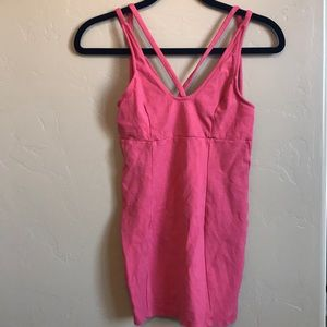 URBAN OUTFITTERS POETRY PINK DRESS!!